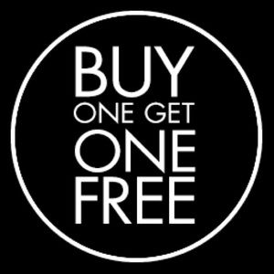 HUNDREDS OF ITEMS BUY ONE GET ONE FREE